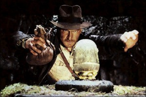 Indiana Jones in Raiders